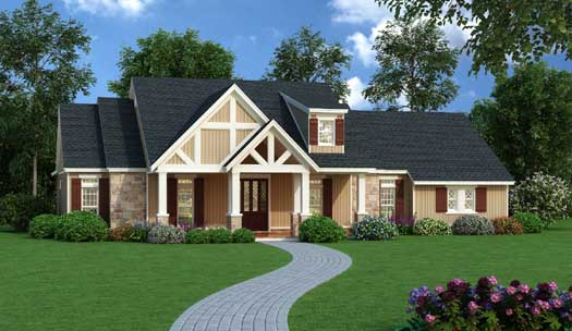 Country Style House Plans Plan: 30-374