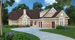Traditional Style House Plans Plan: 30-377