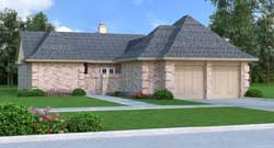 European Style House Plans Plan: 30-388