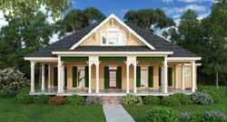 Southern Style Floor Plans Plan: 30-389
