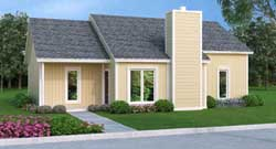 Contemporary Style Floor Plans Plan: 30-394