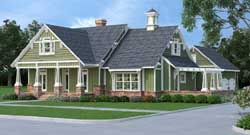 Craftsman Style House Plans Plan: 30-402