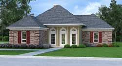 Southern Style Floor Plans Plan: 30-406