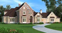 Traditional Style Floor Plans Plan: 30-408