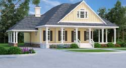 Country Style House Plans Plan: 30-409