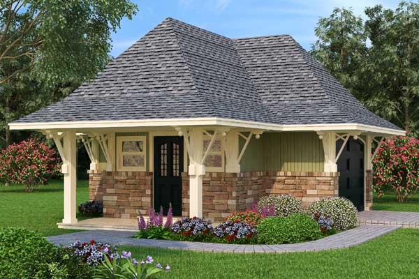 Craftsman Style House Plans Plan: 30-416