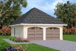 Mediterranean Style Home Design Plan: 30-417