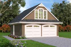 Traditional Style Home Design Plan: 30-419