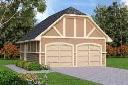 Tudor Style Floor Plans Plan: 30-420