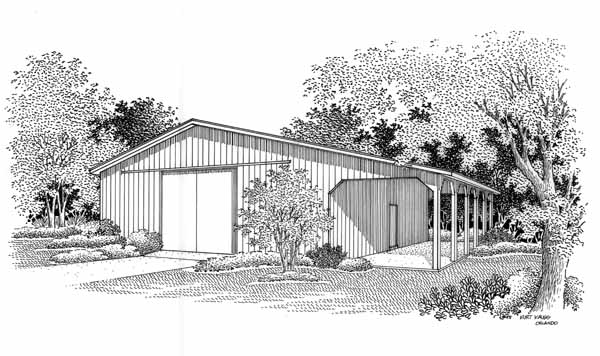 Ranch Style House Plans Plan: 30-423