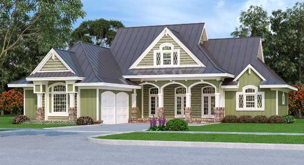 Country Style House Plans Plan: 30-427