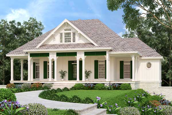 Southern Style Floor Plans Plan: 30-429