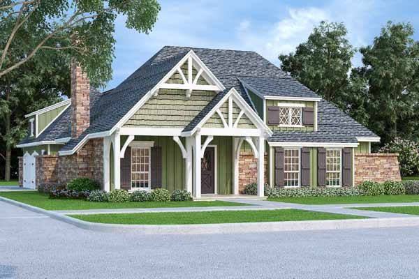 Cottage Style House Plans Plan: 30-435
