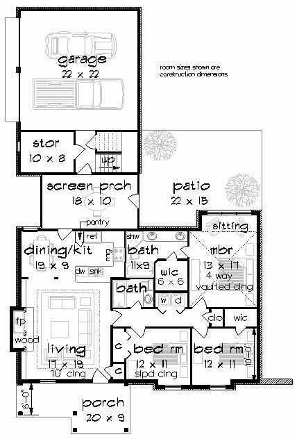 Main Floor Plan: 30-435