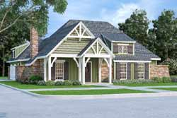 Cottage Style Home Design Plan: 30-435