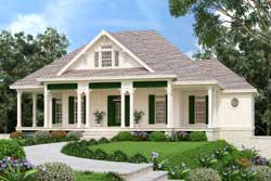 Cottage Style Floor Plans Plan: 30-439