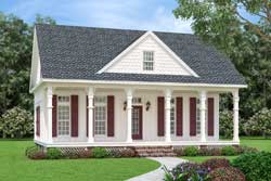 Cottage Style Home Design Plan: 30-440