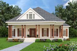 Country Style Home Design Plan: 30-441