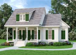 Cottage Style House Plans Plan: 30-442