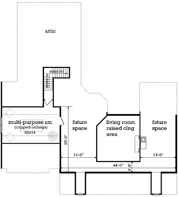 Bonus Floor Plan: 30-443