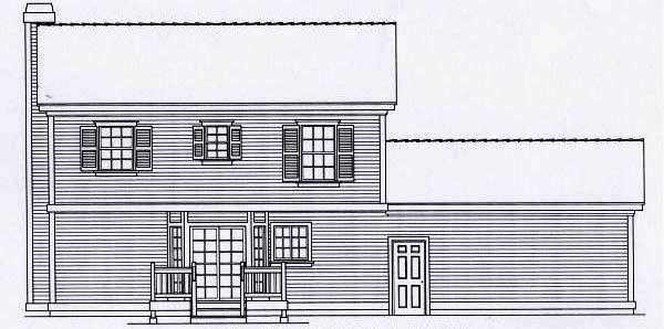 Rear Elevation Plan: 31-111