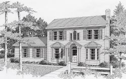 Colonial Style House Plans Plan: 31-111