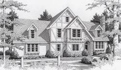 Tudor Style Home Design 31-124