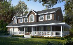 Farm Style House Plans 31-132