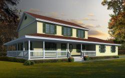 Farm Style Floor Plans 31-133