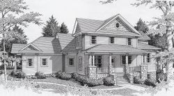 Bungalow Style Floor Plans Plan: 31-155