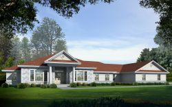 Southern Style House Plans Plan: 31-157