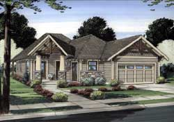 Craftsman Style House Plans 32-109