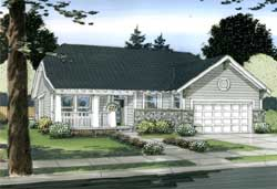 Craftsman Style Floor Plans 32-110