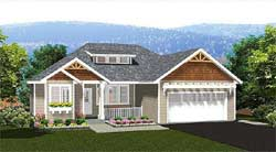 Craftsman Style Floor Plans 32-132