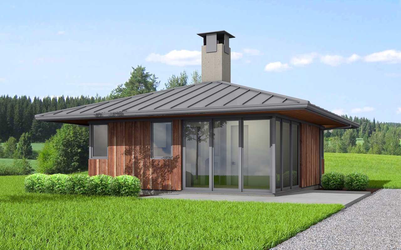 Modern Style Floor Plans Plan: 32-136