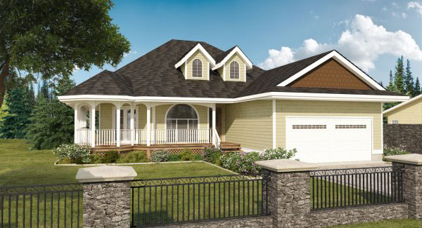 Country Style House Plans Plan: 32-140