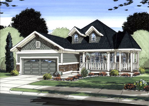 Traditional Style Floor Plans Plan: 32-142