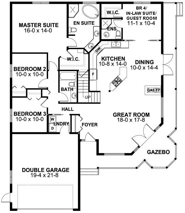Main Floor Plan: 32-142