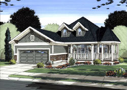 Country Style Floor Plans 32-142