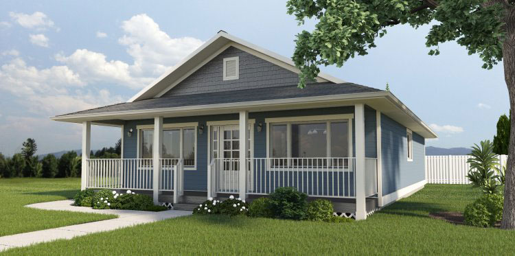 Country Style Home Design Plan: 32-143