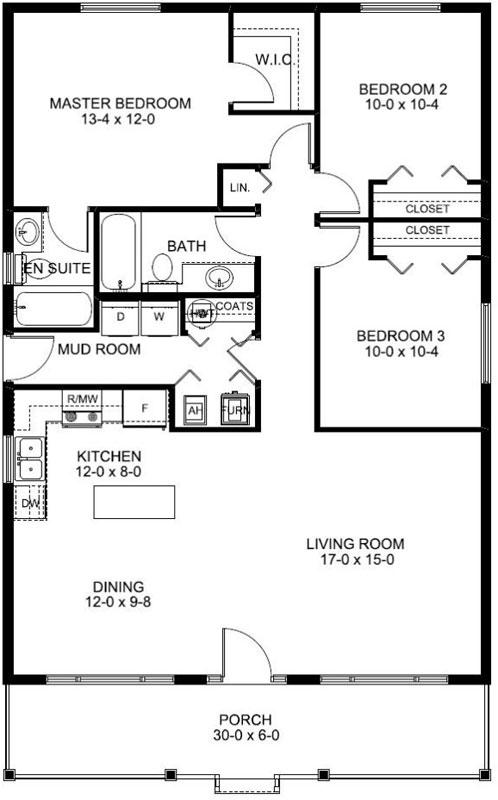Main Floor Plan: 32-143