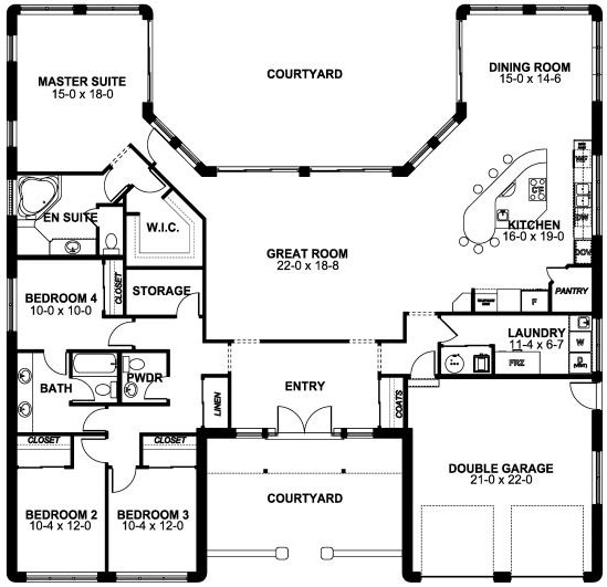 Main Floor Plan: 32-144