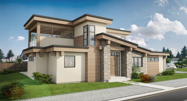 Modern Style Floor Plans Plan: 32-150