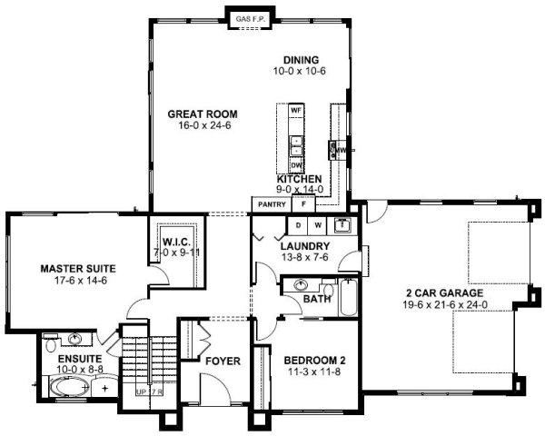 Main Floor Plan: 32-150