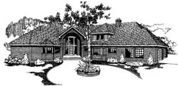 Traditional Style Floor Plans Plan: 33-148