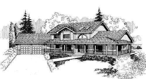Traditional Style House Plans Plan: 33-157