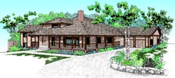 Country Style House Plans Plan: 33-178