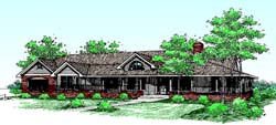 Traditional Style Floor Plans 33-204