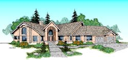 Traditional Style House Plans Plan: 33-216