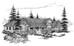 Country Style House Plans Plan: 33-235